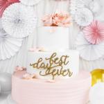 Tort Biało-Różowy